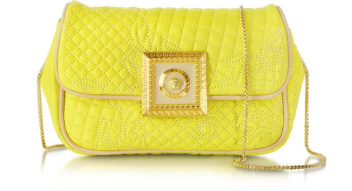 Acacia Micro Vanitas Leather Clutch - Versace