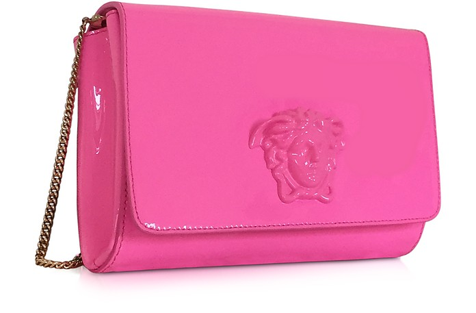 6d29752ebf33 Versace Palazzo Pink Patent Leather Crossbody Bag at FORZIERI Australia