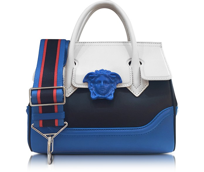 Palazzo Empire Multicolor Leather Handbag - Versace