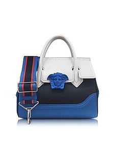 Palazzo Empire Multicolor Leather Handbag - Versace