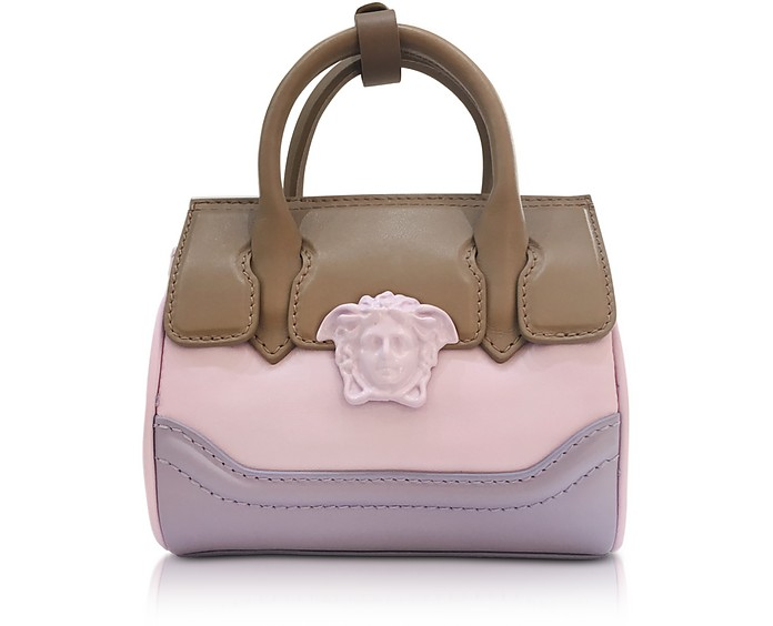 Palazzo Empire Multicolor Leather Mini Handbag - Versace