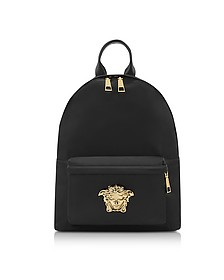 Black Nylon Palazzo Backpack - Versace