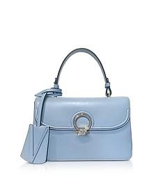 Celeste Leather DV One Shoulder Bag - Versace