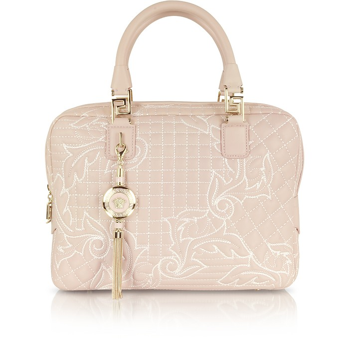 Powder Vanitas Demetra Quilted Bag - Versace