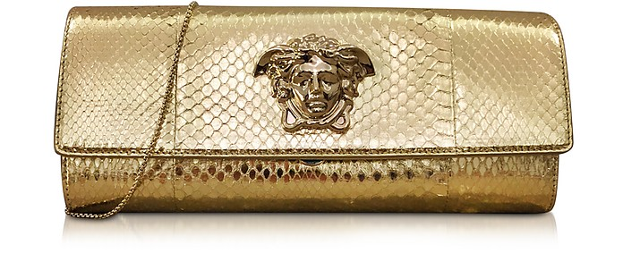 Palazzo Golden Ayers Evening Clutch - Versace