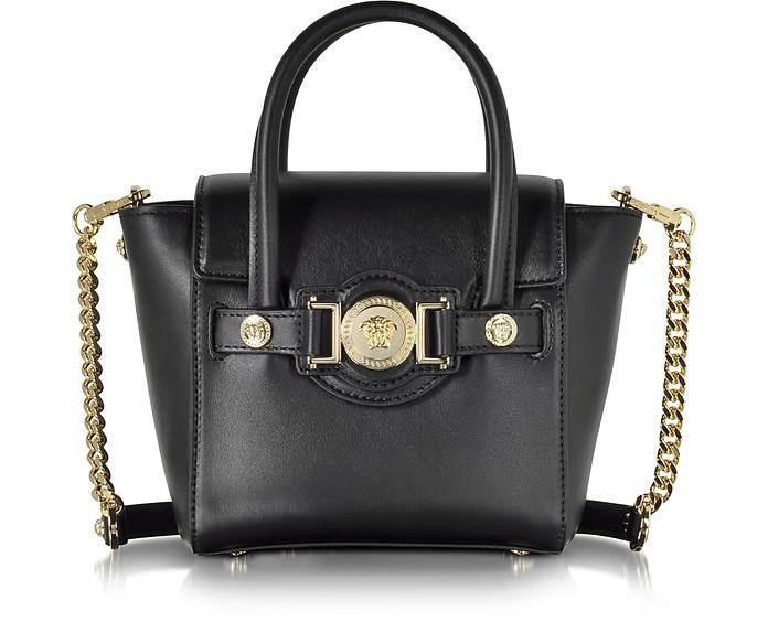 Leather Signature Mini Bag - Versace