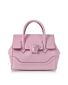 Palazzo Empire - Розовая Кожаная Сумка - Versace