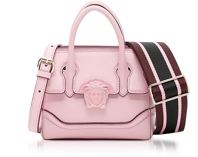 8138ac4b0960 Versace Palazzo Empire Pink Leather Mini Handbag at FORZIERI Canada
