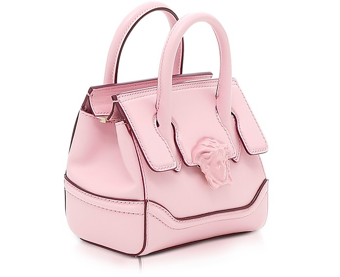 fa1888f43f Palazzo Empire Pink Leather Mini Handbag - Versace. Sold Out