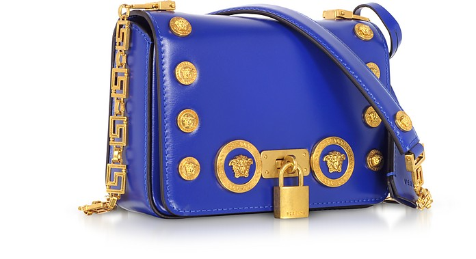 aac97a2274 Versace Small Icon Leather Shoulder Bag