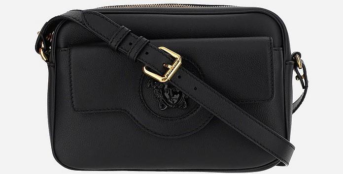 Black And Grey shoulder_crossbodybags_shoulderbag - Versace