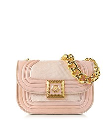 Powder Icon Quilted and Patent Leather Handbag