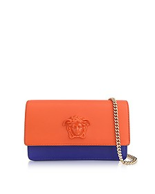 Palazzo Fully Charged and Indac Leather Small Pouch - Versace