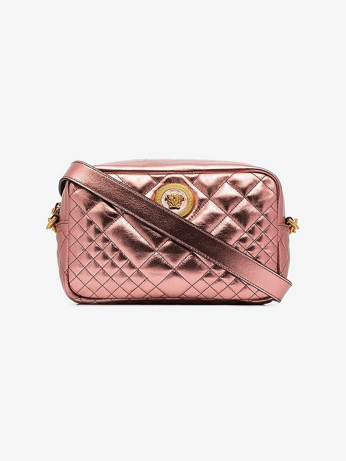 Versace Accessories Icon Quilted Camera Bag