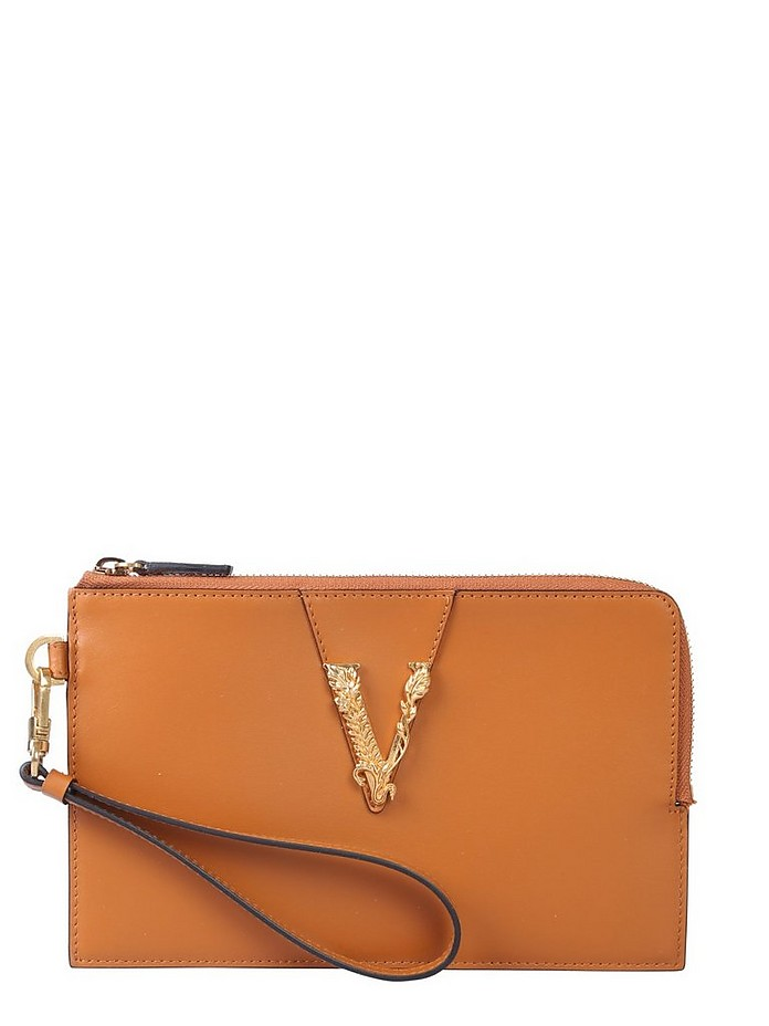 SMALL CLUTCH WITH ZIP - Versace