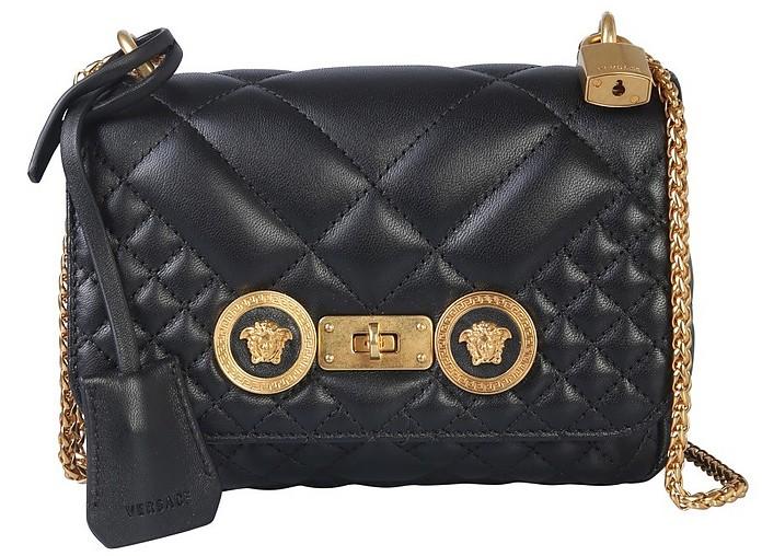 Small Icon Shoulder Bag - Versace