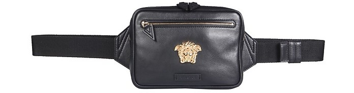 Leather Belt Bag - Versace