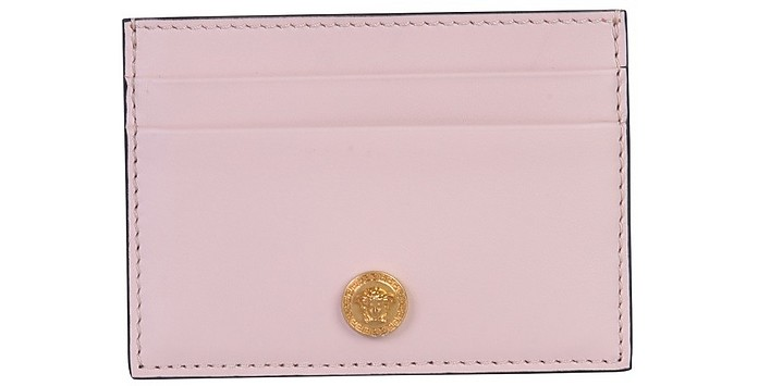 Card Holder With Logo - Versace