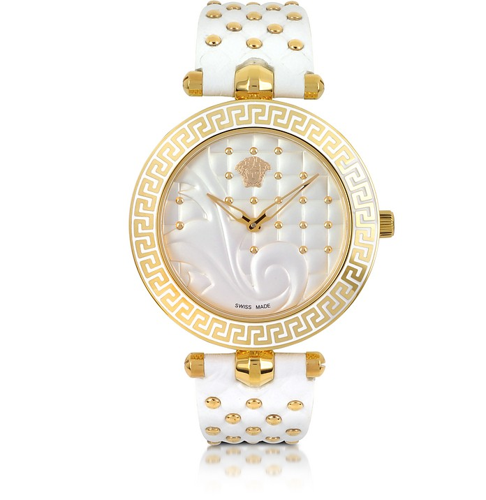 Vanitas White Women's Watch - Versace