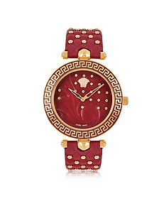 Red Vanitas with Diamonds Women's Watch - Versace