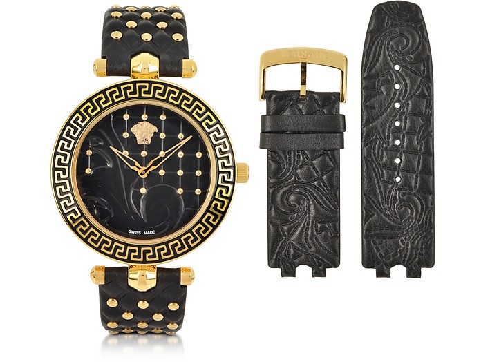 c25621f5 Versace Vanitas Black Women's Watch at FORZIERI