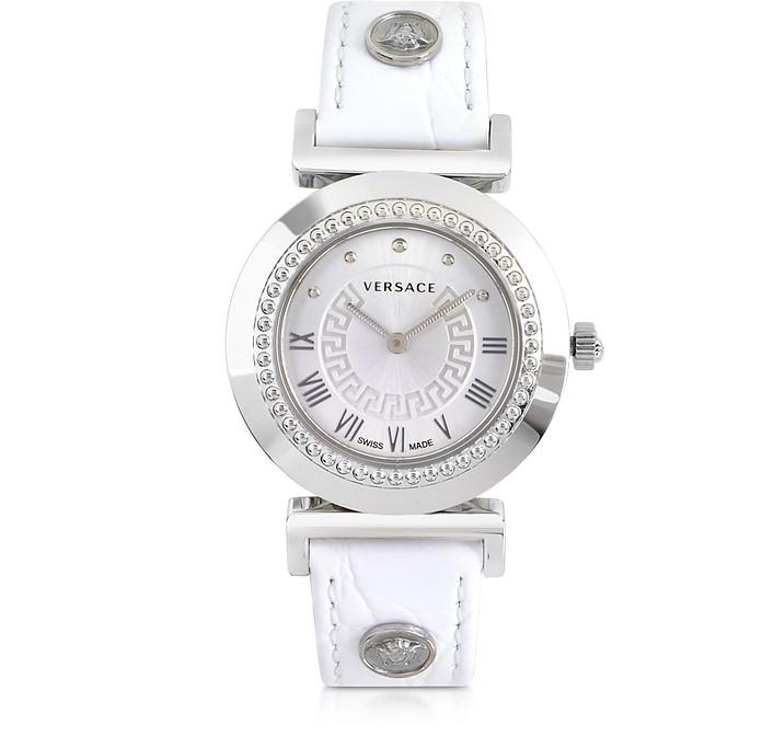 Vanity Lady White Women's Watch - Versace