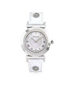 Vanity Lady White Women's Watch - Versace