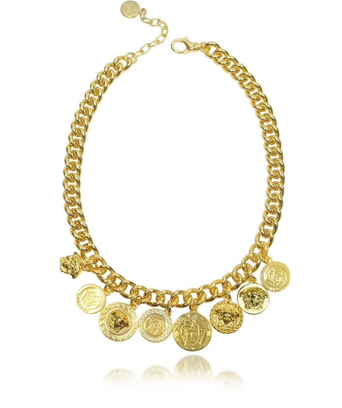 Icon Charms Single Chain Necklace - Versace