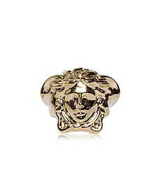 Light Gold Metal Medusa Ring - Versace