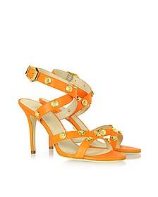 Signature Medusa Orange Sandal