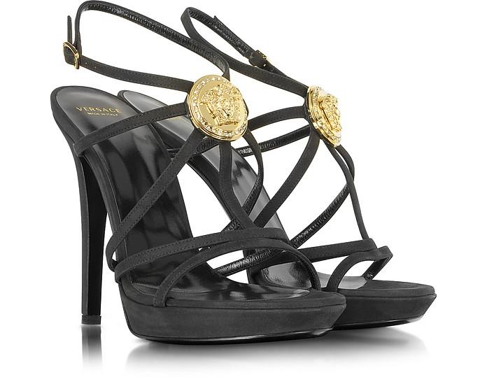 54b361e402 Versace Medusa Platform Sandals 36 IT/EU at FORZIERI