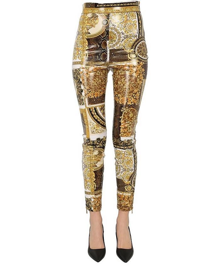 Printed Leggings - Versace