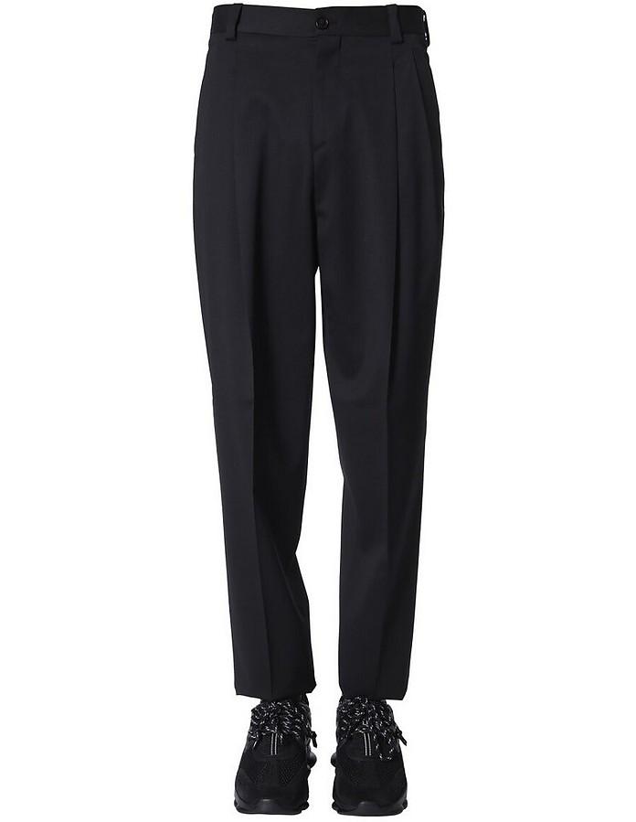 High-Waist Trousers - Versace