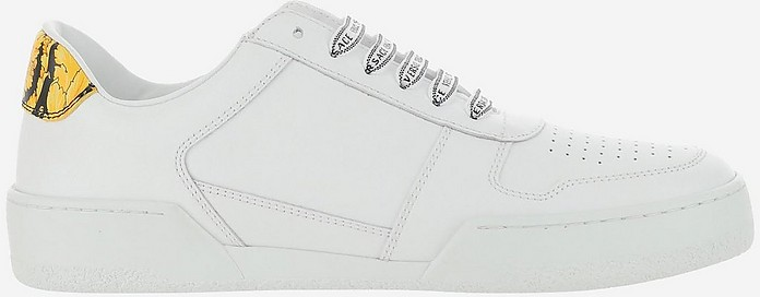 Light And Natural Low Top Sneakers - Versace