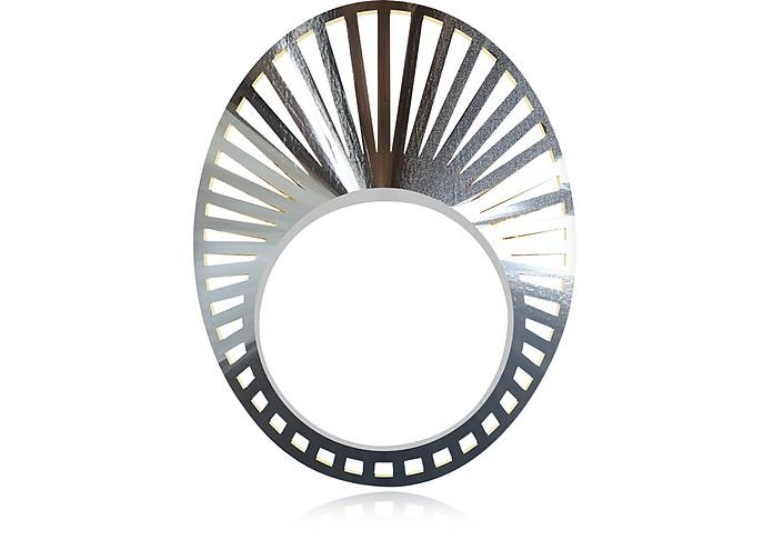 VOJD STUDIOS Phase Precious Oval Sterling Silver Ring