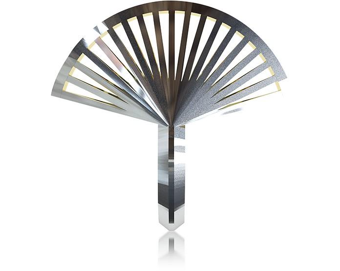 VOJD STUDIOS Phase Precious Fan Sterling Silver Ring