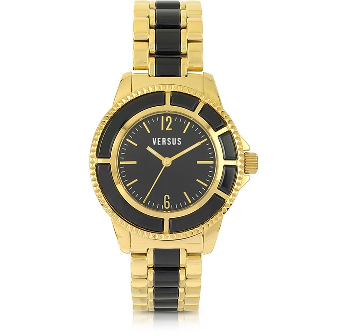 Tokyo 38 Gold and Resin Women's Watch - Versace Versus