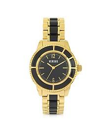 Tokyo 38 Gold and Resin Women's Watch - Versace Versus