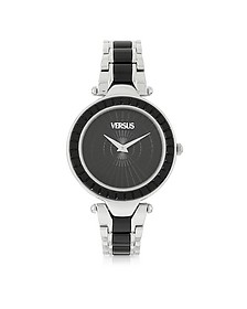 Sertie Stainless Steel and Resin Women's Watch - Versace Versus