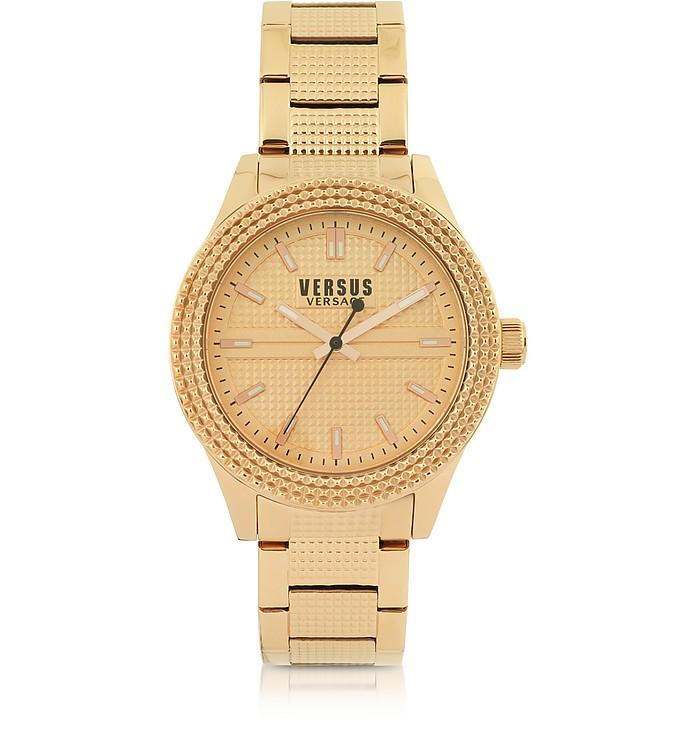 Bayside Rose Gold Tone Stainless Steel Women's Bracelet Watch - Versace Versus