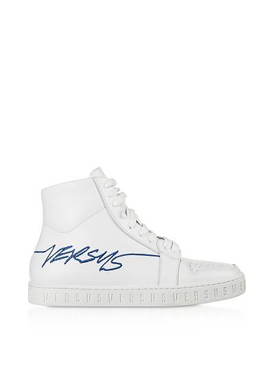 Optic White Men's Sneakers - Versace Versus
