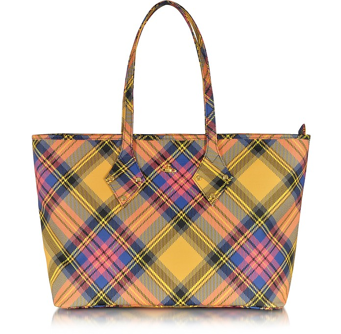 2a5cec1a5c Vivienne Westwood Derby Fabric Tote Bag at FORZIERI Canada