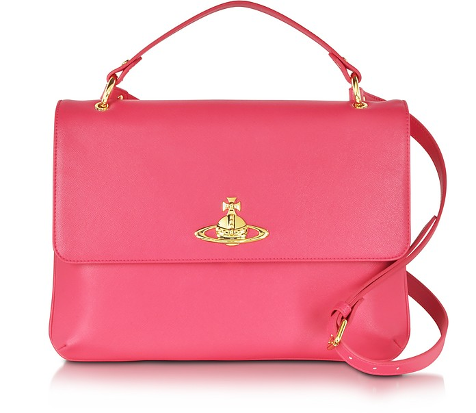 Divina Coral Eco-Leather Crossbody Bag - Vivienne Westwood