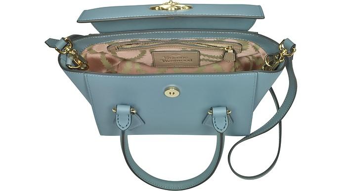 Pimlico Small Satchel Bag Vivienne Westwood Blu Chiaro l8qRM