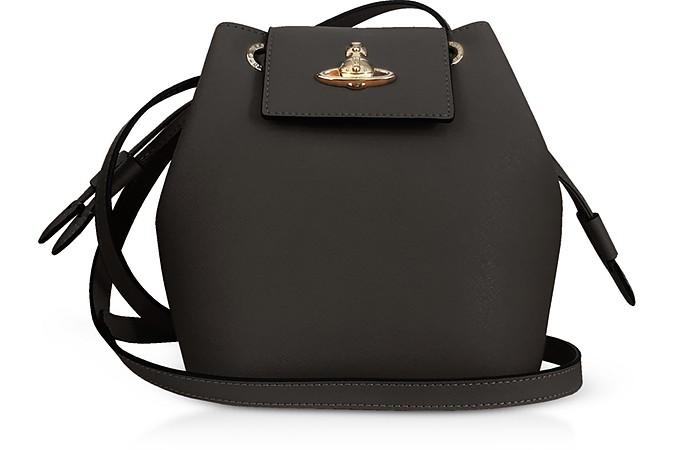 Pimlico Saffiano Leater Bucket Bag - Vivienne Westwood