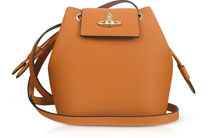 Pimlico Saffiano Leater Bucket Bag - Vivienne Westwood