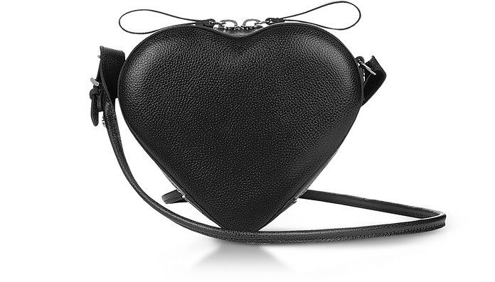 Johanna Black Heart Crossbody Bag - Vivienne Westwood