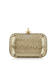 Grace Small Metallic Clutch