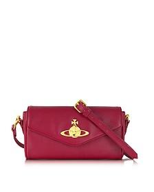 Divina Saffiano Eco Leather Crossbody Bag