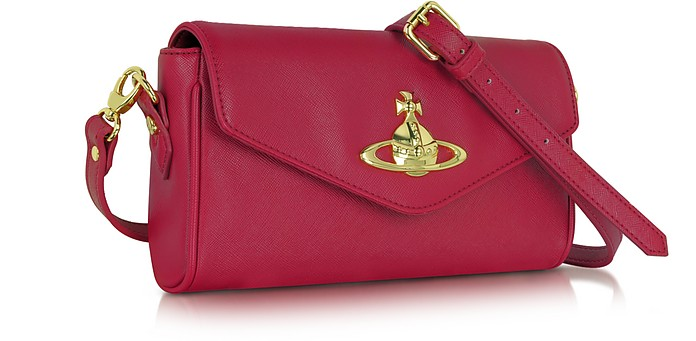 7fb98382fa Divina Saffiano Eco Leather Crossbody Bag - Vivienne Westwood. $336.00  Actual transaction amount